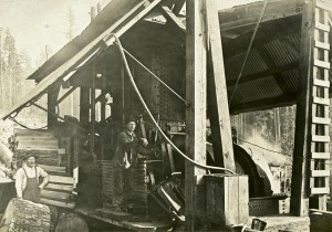 High tech logging in early 1900