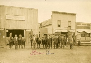 Eatonville's Livery stable on Mashell, when the town was still all horses.