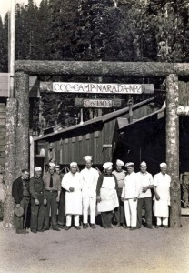 Some of the Staff at the CCC Camp Narada in Longmire