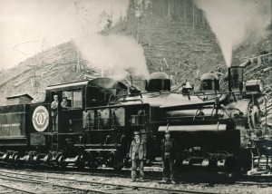 Weyerhaeuser Timber Company Locomotive