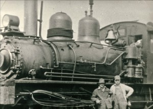 Locomotive up close