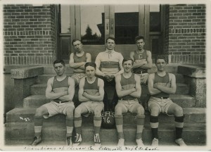 1906 EHS basketball team