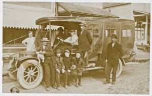 Eatonville to Tacoma Stage ca 1915