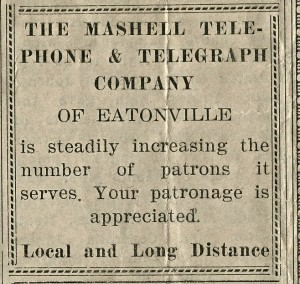 Mashell Telephone and Telegraph Company