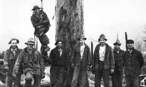Loggers in the early days