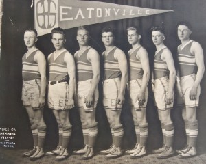 1920-21 EHS Basketball team