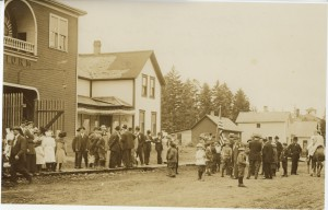 Redman Hall, ca. July 4,1910
