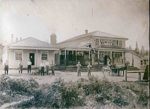 Eatonville Lumber Company store 1916