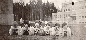 1920 - EHS Girls' Basketball Team