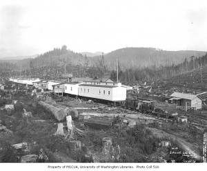 Eatonville Lumber Company Camp