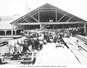 Eatonville Lumber Co. (early 1900s)