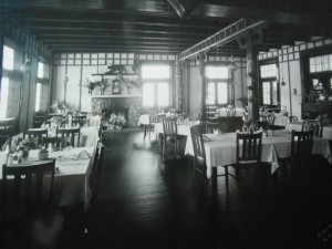 Canyada Lodge dining area