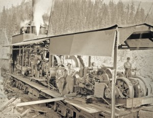 Westfork Logging co, Mineral WA  Sept 1928
