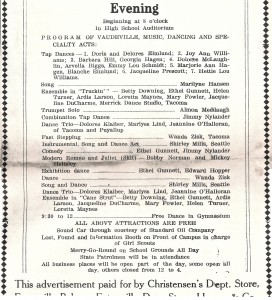 1937 May Day Program - Page 2
