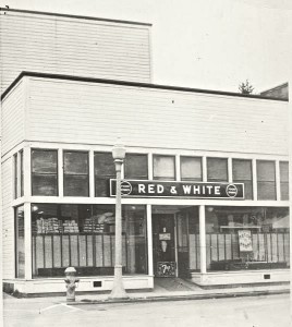 Red and White Store