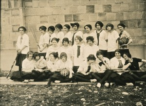1914 EHS Girls Baseball Team