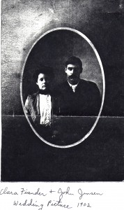 Clara and John Jensen, 1902