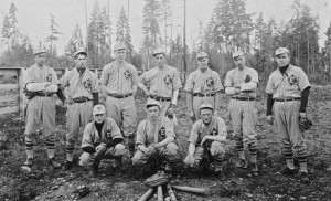 Eatonville's Baseball Team, 1914
