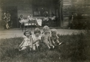 Out at the Peterson Farm - 1946