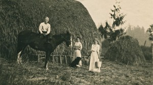 Photo from Smith/Taylor family collection of farming in Eatonville