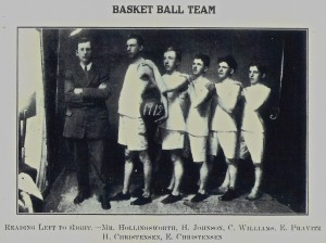1912 Basket Ball Team