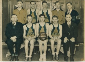 1936 ELCO basketball team