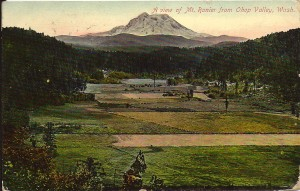 1909 Ohop Valley Postcard