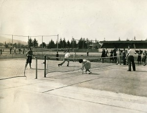 EHS Tennis Court - 1939