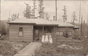 First Eatonville Hospital (ca. 1909)