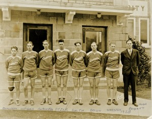 1928 EHS Basketball team