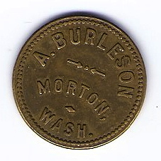 A. Burleson - Front of Token