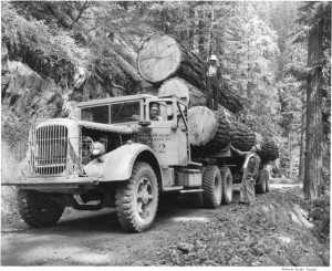 St. Regis Truck out of Mineral (1949)