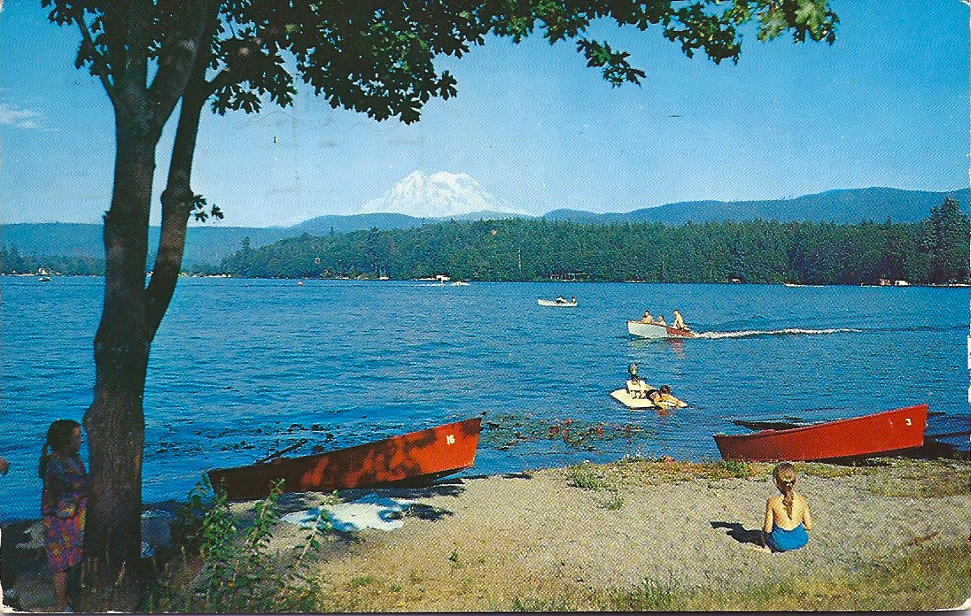 Eatonville to rainier clear lake 1962 for Clear lake