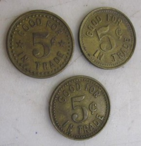Eatonville Token Back