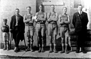 The 1918 Eatonville Basketball team