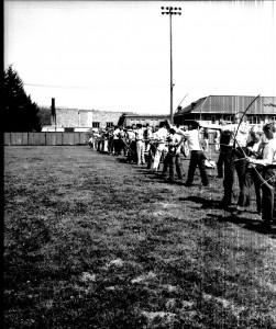 Fife vs. Eatonville Grade School, May 1956