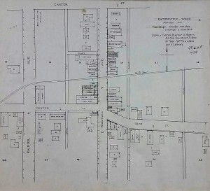 1914 Fire Department Map