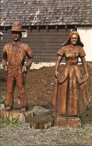 Duke Moore sculptures