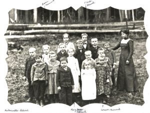 Mensik family school photo
