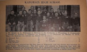 1928 Kapowsin Football Team