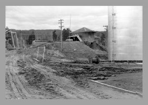 Construction at LaGrande power station