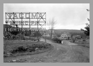 Tacoma Power sign in LaGrande