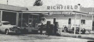 Richfield Station in early 60s