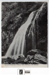 Little Mashell Falls postcard
