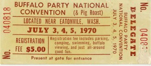 Eatonville Rock Festival Ticket