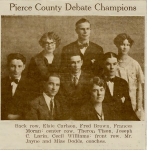 Pierce County Debate Champions
