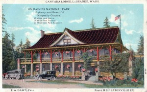 Post Card of Canyada Lodge