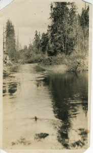 Work on Ohop Creek in the 1ate 1800s