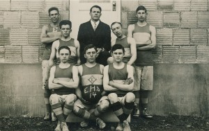 Eatonville Basketball team - 1914