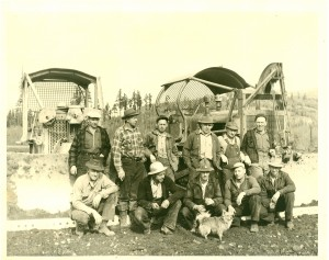 The men who built the Eatonville Airport